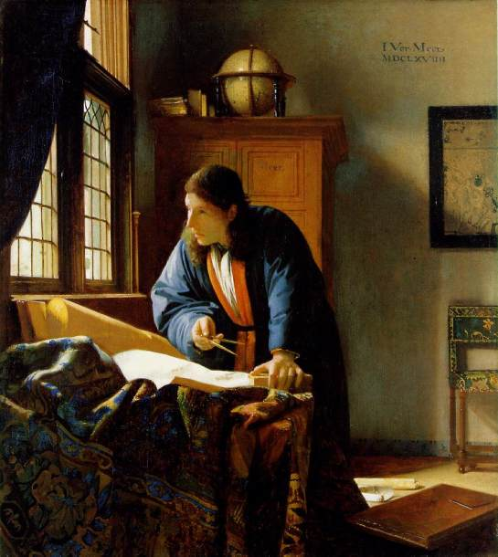 Johannes Vermeer, The Geographer, c. 1668-69.