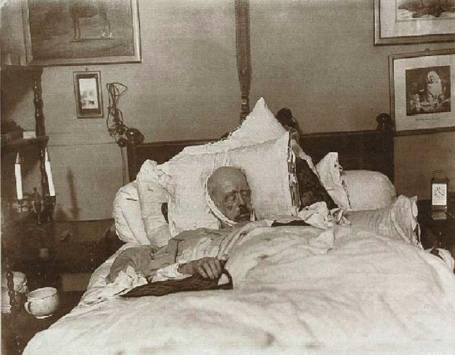 Bismarck auf dem Totenbette