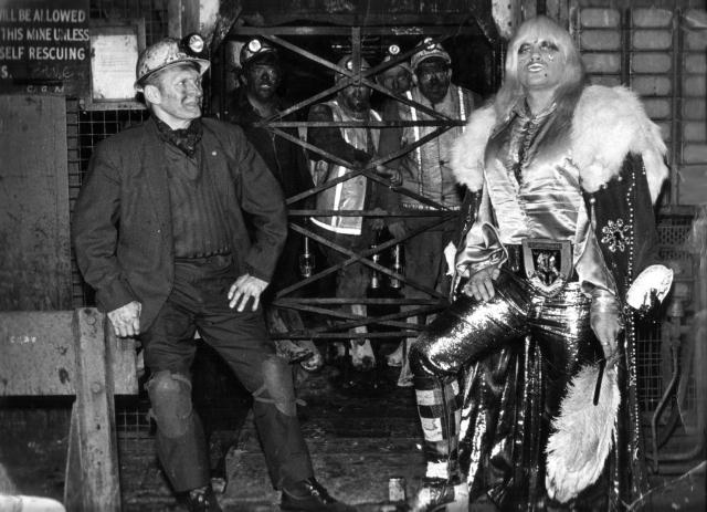 The return to Beynon's Colliery.